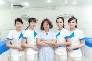 Đội ngũ y bác sỹ chuyên khoa