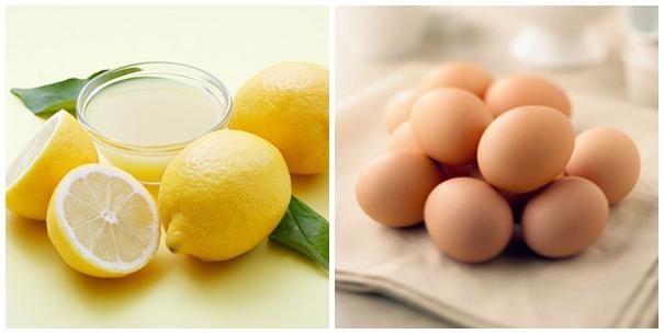 Cách chữa mụn thịt quanh mắt đơn giản bằng chanh và lòng trắng trứng