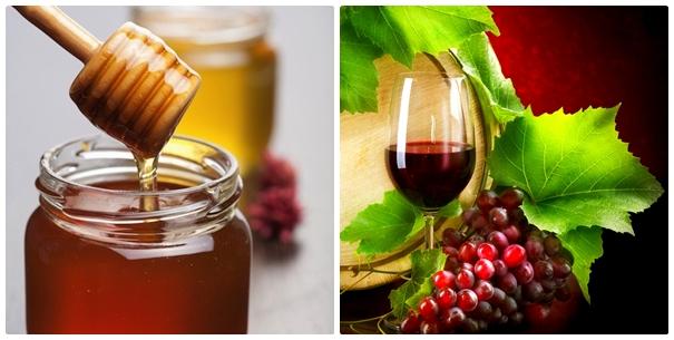 Cách trị mụn thịt độc đáo bằng mật ong và rượu vang