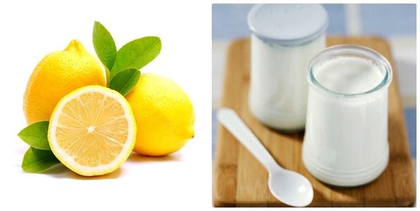 Cách trị mụn thịt hiệu quả bằng chanh và sữa tươi