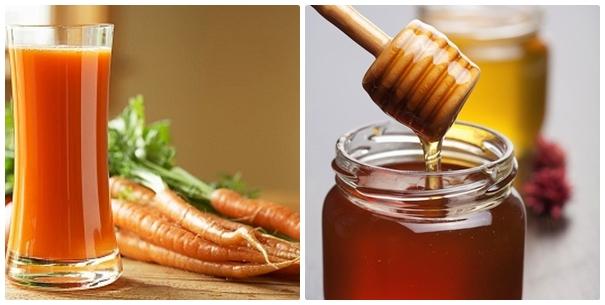 Bí kíp trị mụn thịt đơn giản khi bạn kết hợp mật ong + cà rốt